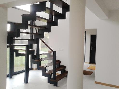 Tylko na zewnątrz Schody i Drzwi z drewna - Stolbed - Kielce 505 074 938 schody JJ81